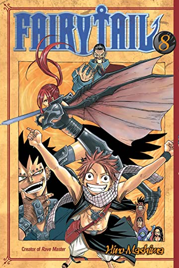 Fairy Tail Tome 8