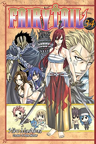 Fairy Tail Vol. 34