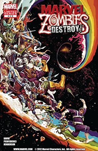 Marvel Zombies Destroy #4 (of 5)