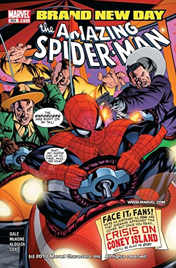 Amazing Spider-Man (1999-2013) #563