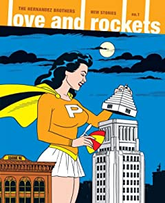 Love & Rockets: New Stories #1
