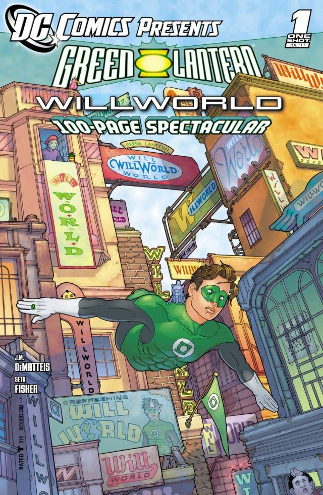 DC Comics Presents: Green Lantern: Willworld