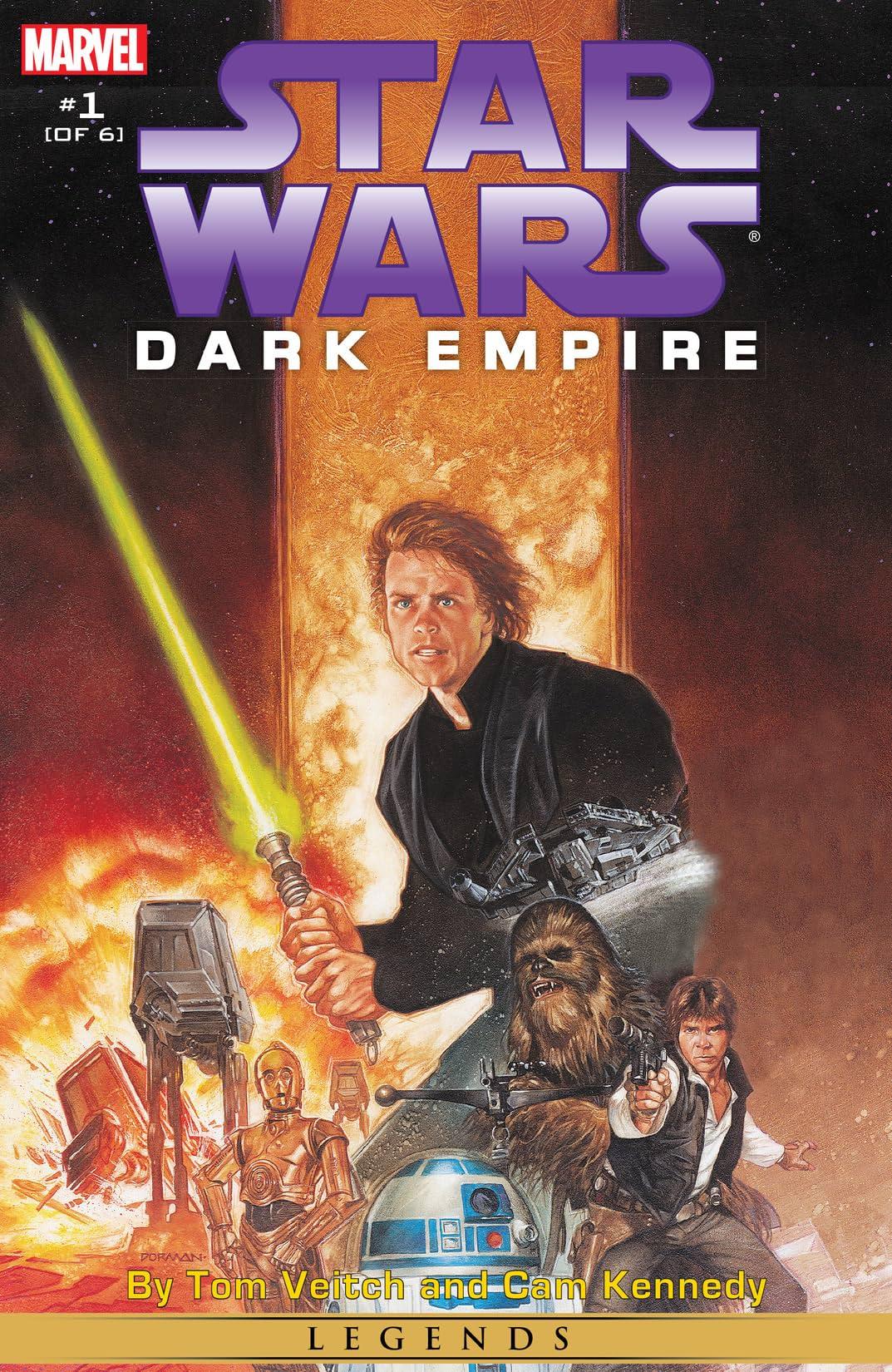 Star Wars: Dark Empire (1991) #1 (of 6)