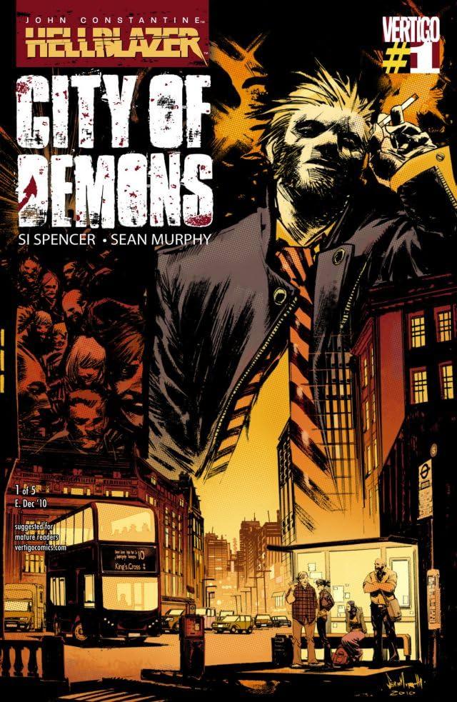 John Constantine: Hellblazer - City of Demons #1 (of 5)