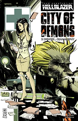 John Constantine: Hellblazer - City of Demons #2 (of 5)