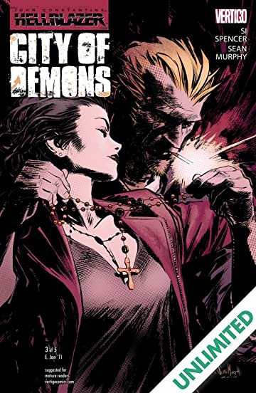 8e418244432 John Constantine  Hellblazer - City of Demons  3 (of 5) - Comics by ...