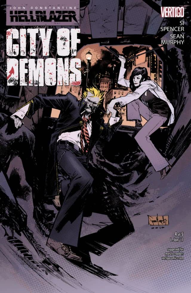John Constantine: Hellblazer - City of Demons #4 (of 5)