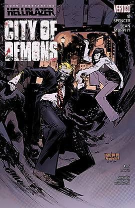 John Constantine: Hellblazer - City of Demons #4 (of 5)