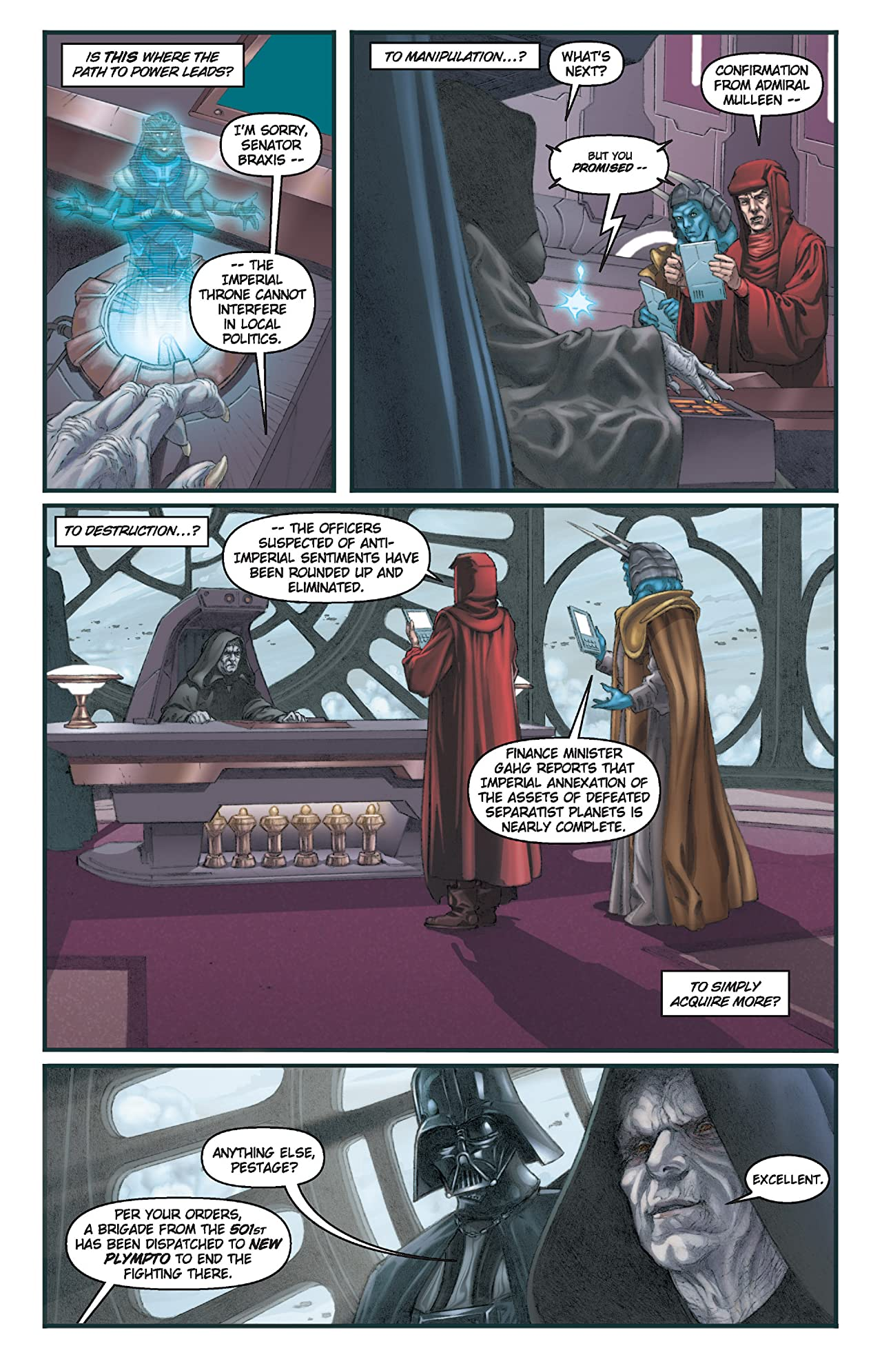 Star Wars: Dark Times (2006-2010) #1