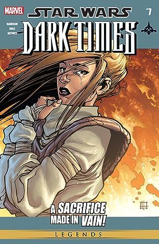 Star Wars: Dark Times (2006-2010) No.7
