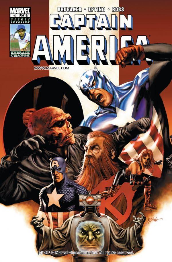 Captain America (2004-2011) #42