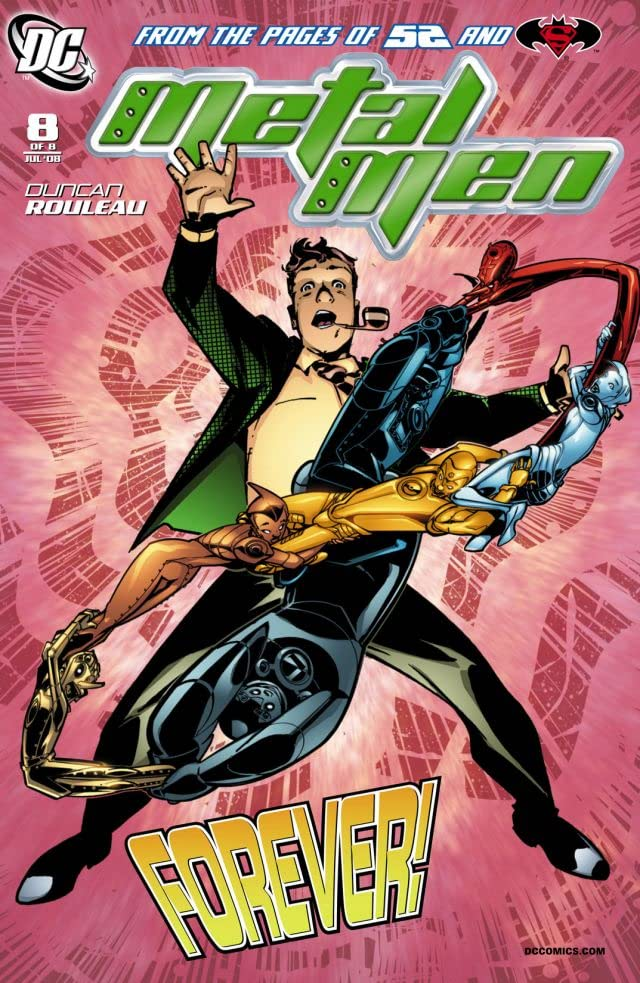 Metal Men (2007-2008) #8 (of 8)