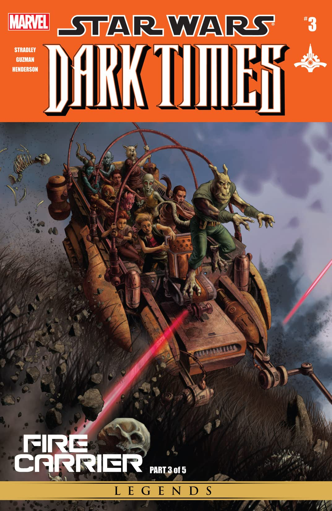 Star Wars: Dark Times - Fire Carrier (2013) #3 (of 5)
