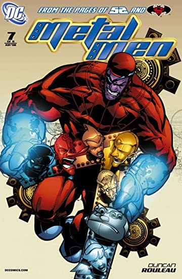Metal Men (2007-2008) #7 (of 8)