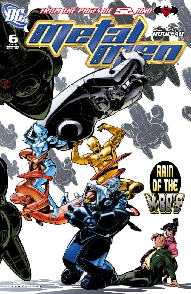 Metal Men (2007-2008) #6 (of 8)