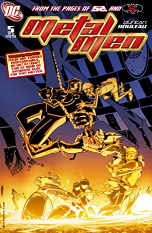 Metal Men (2007-2008) #5 (of 8)