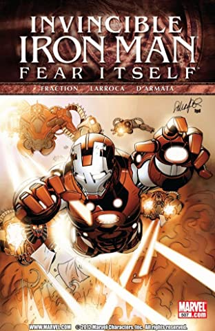Invincible Iron Man (2008-2012) #507