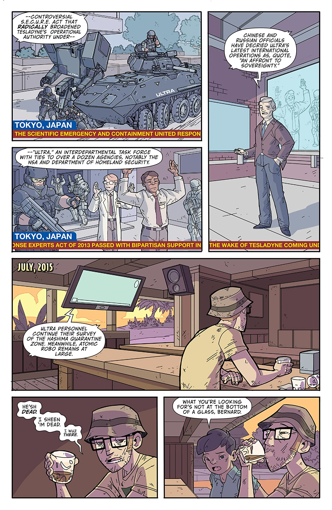 Atomic Robo and the Ring of Fire #1