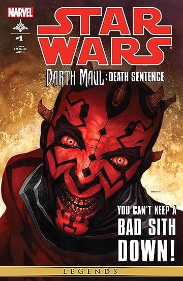 Star Wars: Darth Maul - Death Sentence (2012) #1 (of 4)