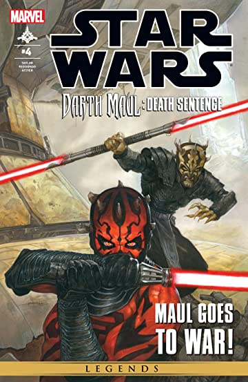 Star Wars: Darth Maul - Death Sentence (2012) #4 (of 4)