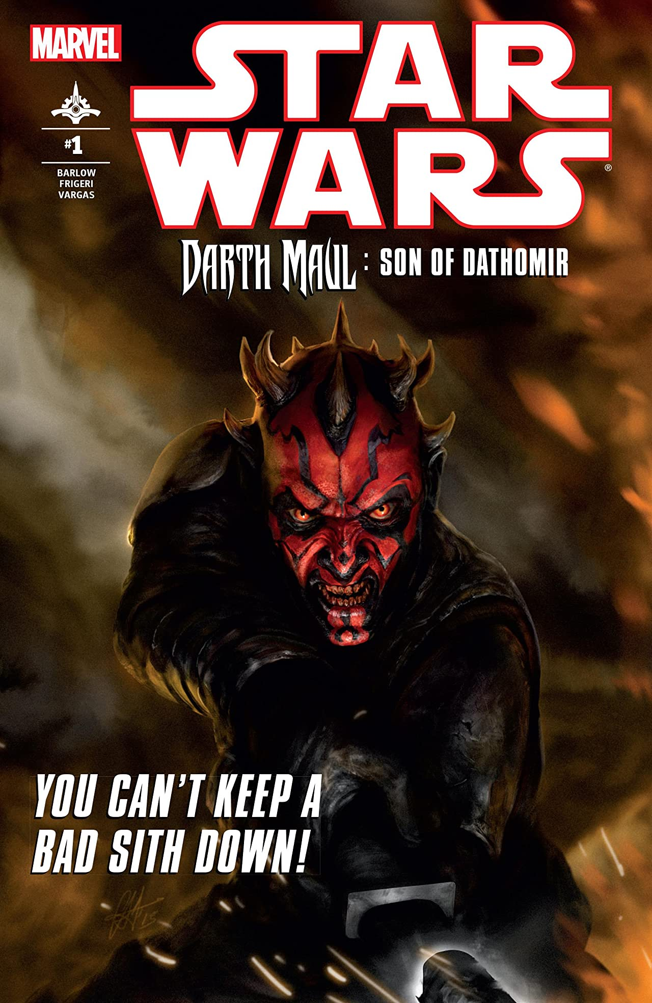 Star Wars: Darth Maul - Son of Dathomir (2014) #1 (of 4)
