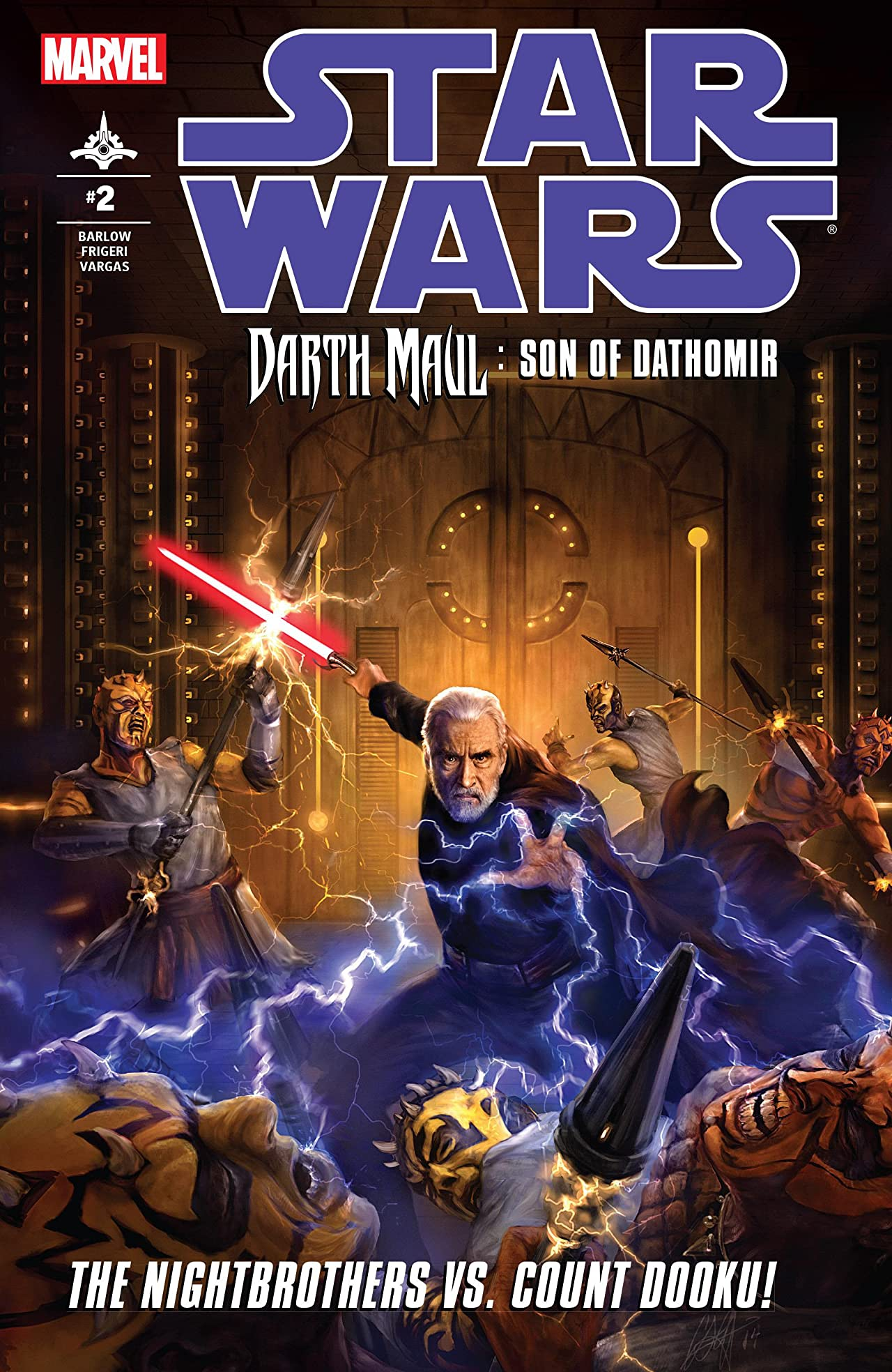 Star Wars: Darth Maul - Son of Dathomir (2014) #2 (of 4)