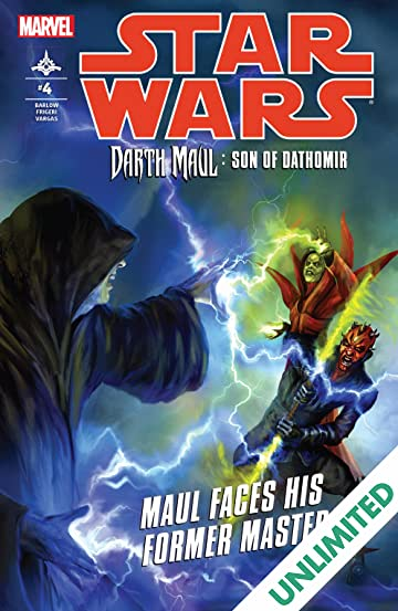 Star Wars: Darth Maul - Son of Dathomir (2014) #4 (of 4)