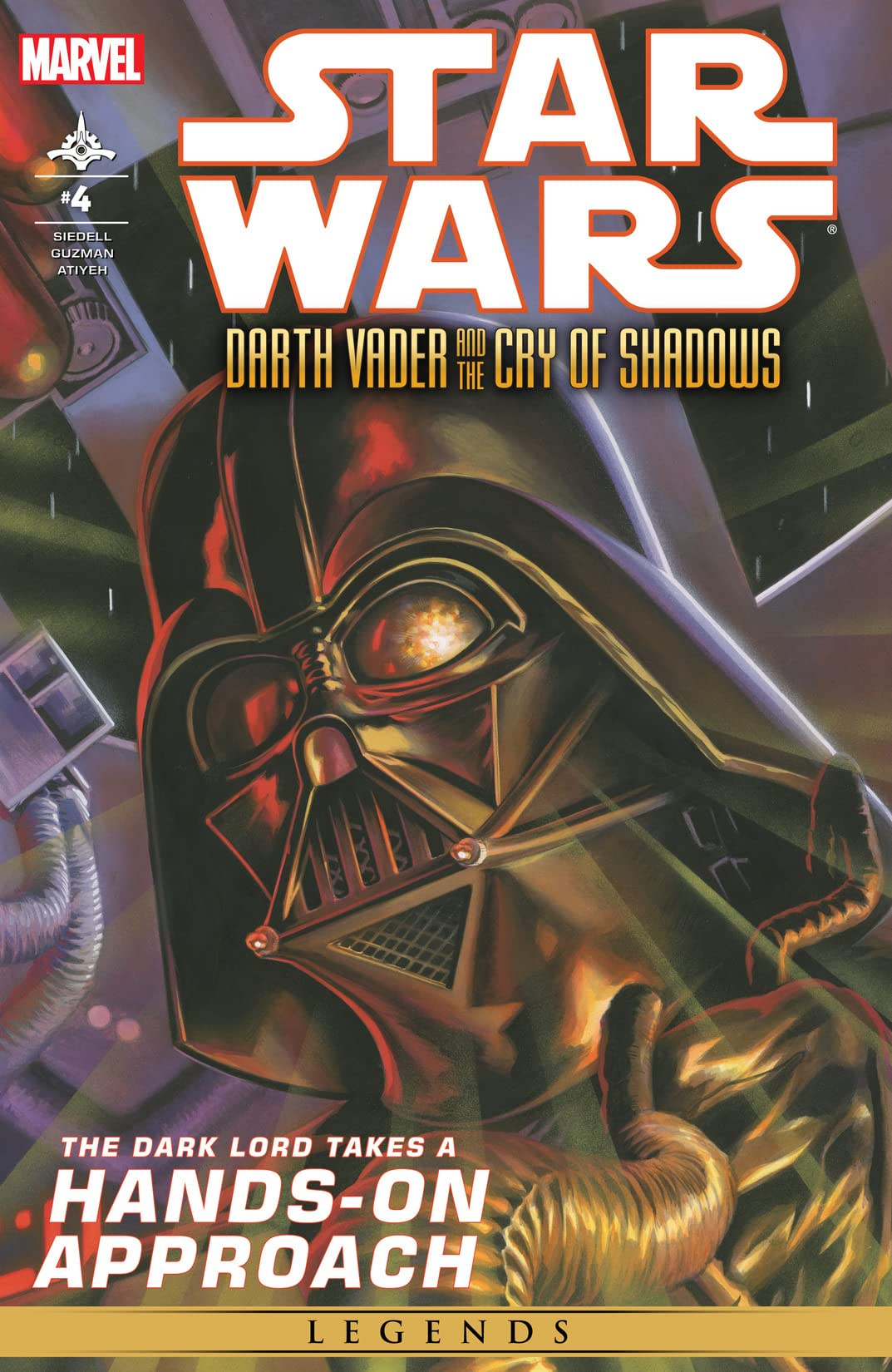 Star Wars: Darth Vader and the Cry of Shadows (2013-2014) #4 (of 5)