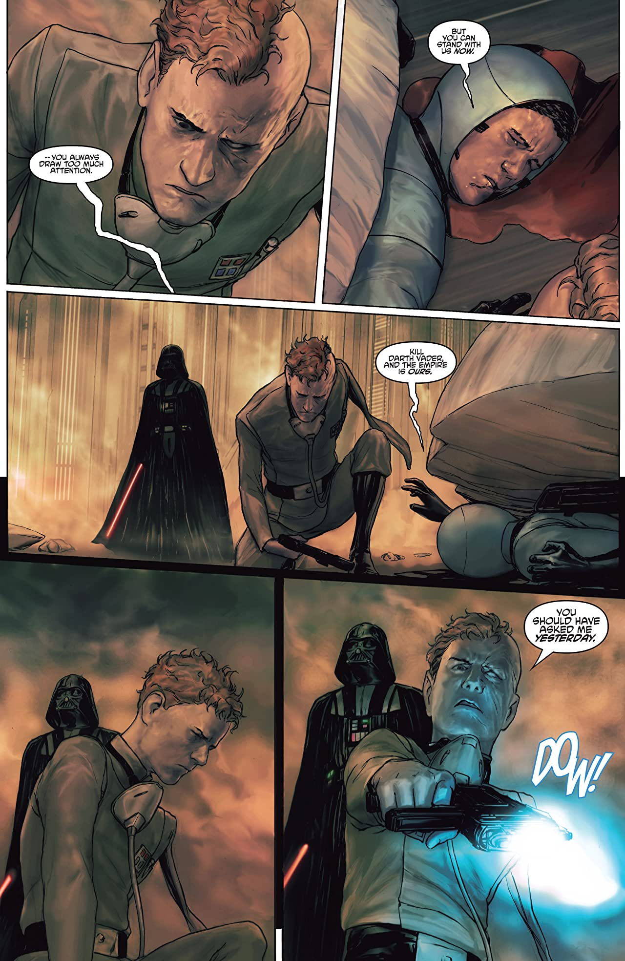 Star Wars: Darth Vader and the Ghost Prison (2012) #2 (of 5)