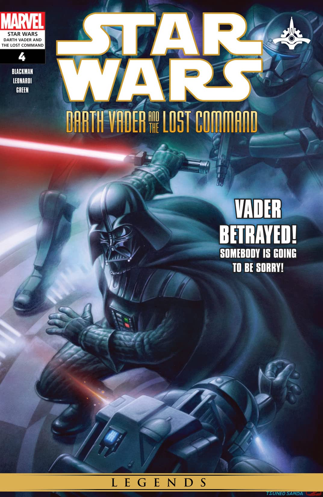 Star Wars: Darth Vader and the Lost Command (2011) #4 (of 5)