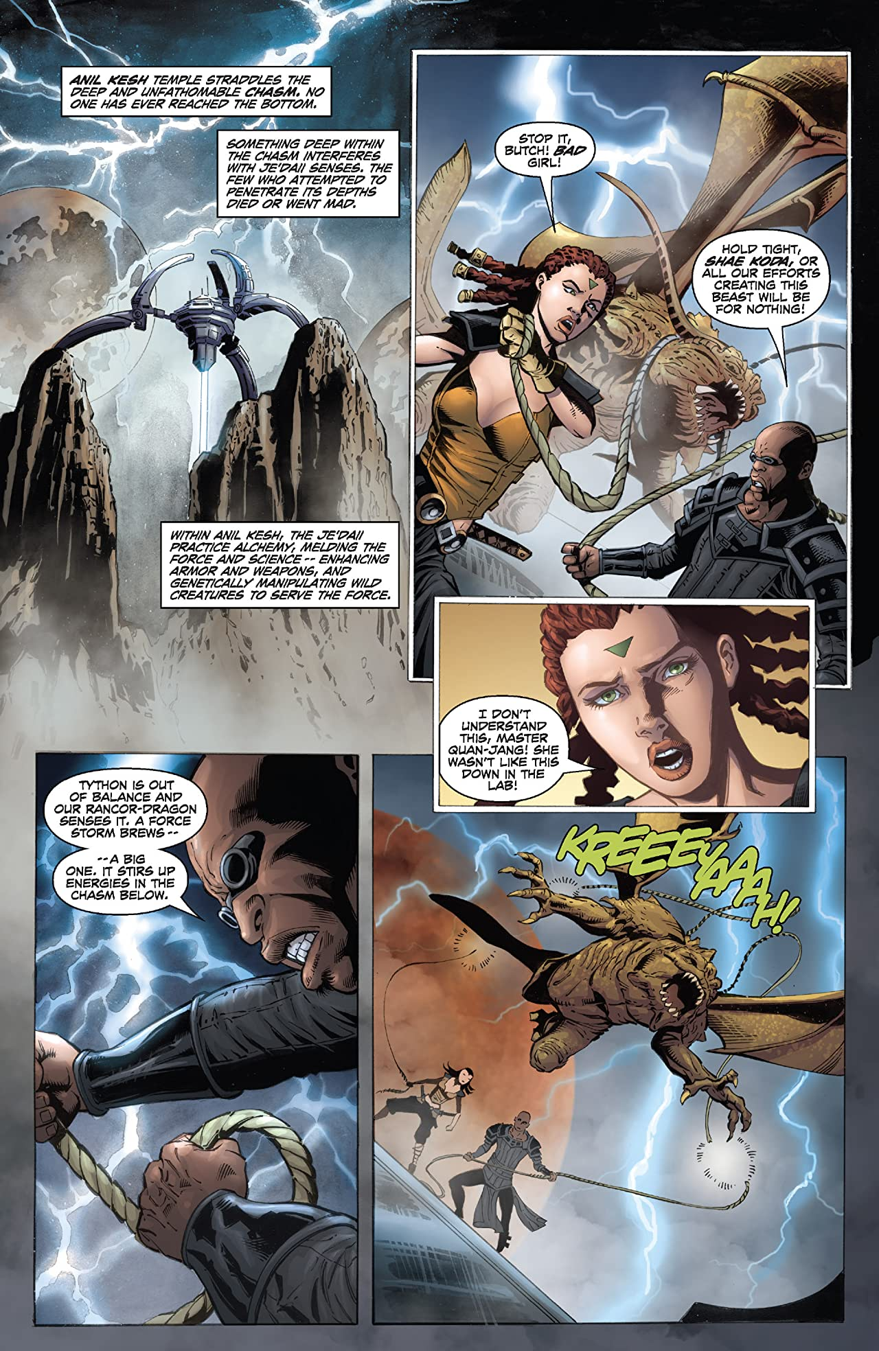 Star Wars: Dawn of the Jedi - Force Storm (2012) #2 (of 5)