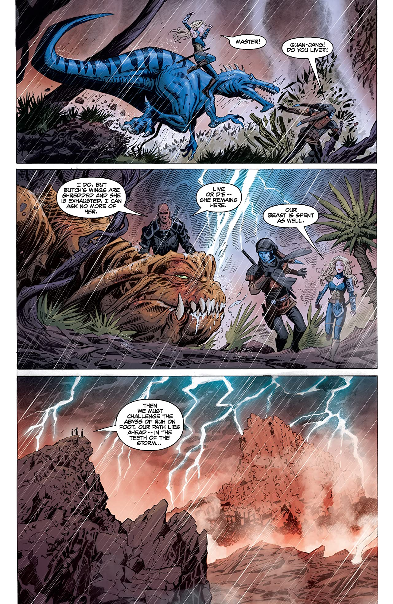 Star Wars: Dawn of the Jedi - Force Storm (2012) #5 (of 5)