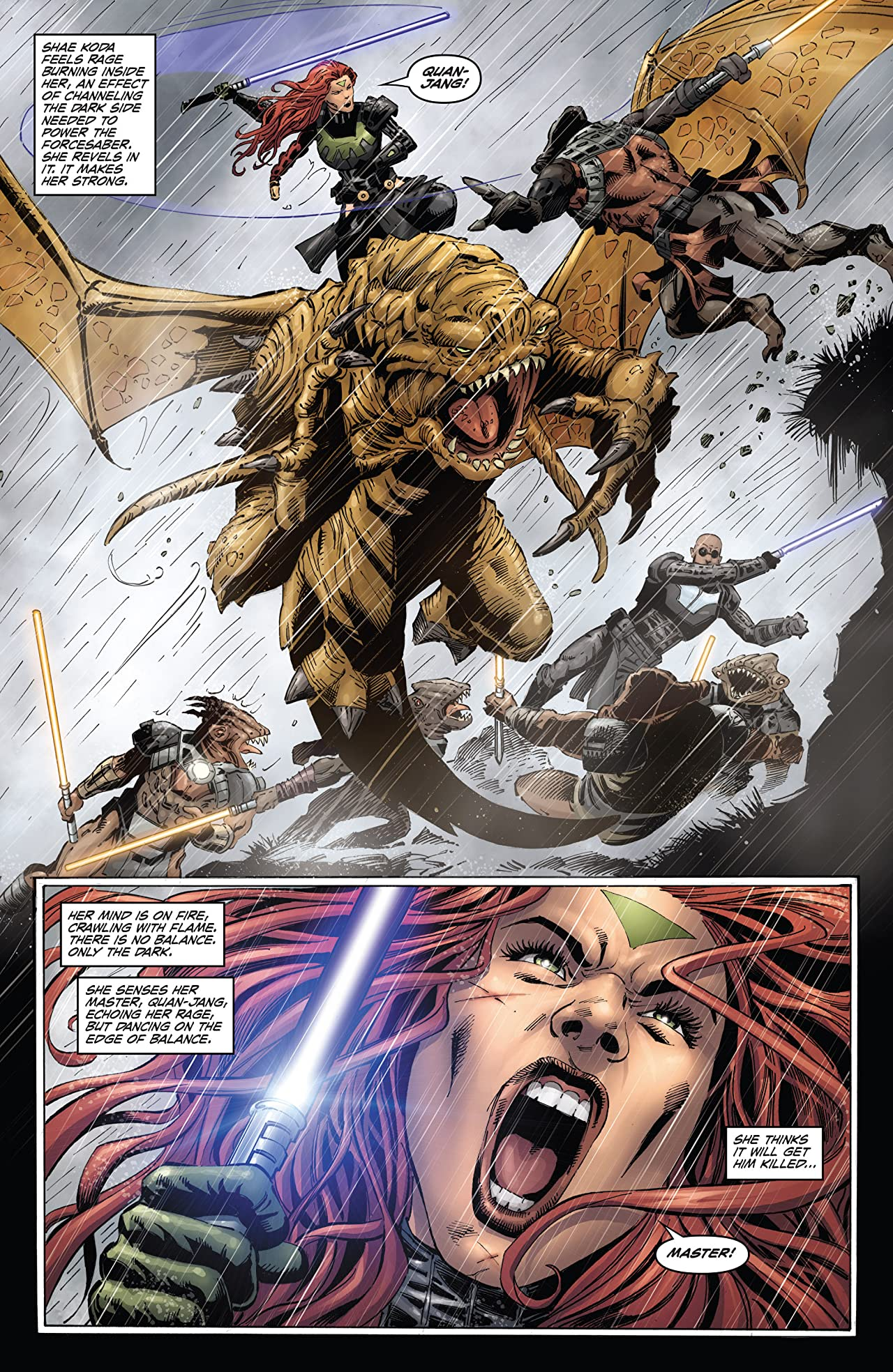 Star Wars: Dawn of the Jedi - Force War (2013-2014) #3 (of 5)
