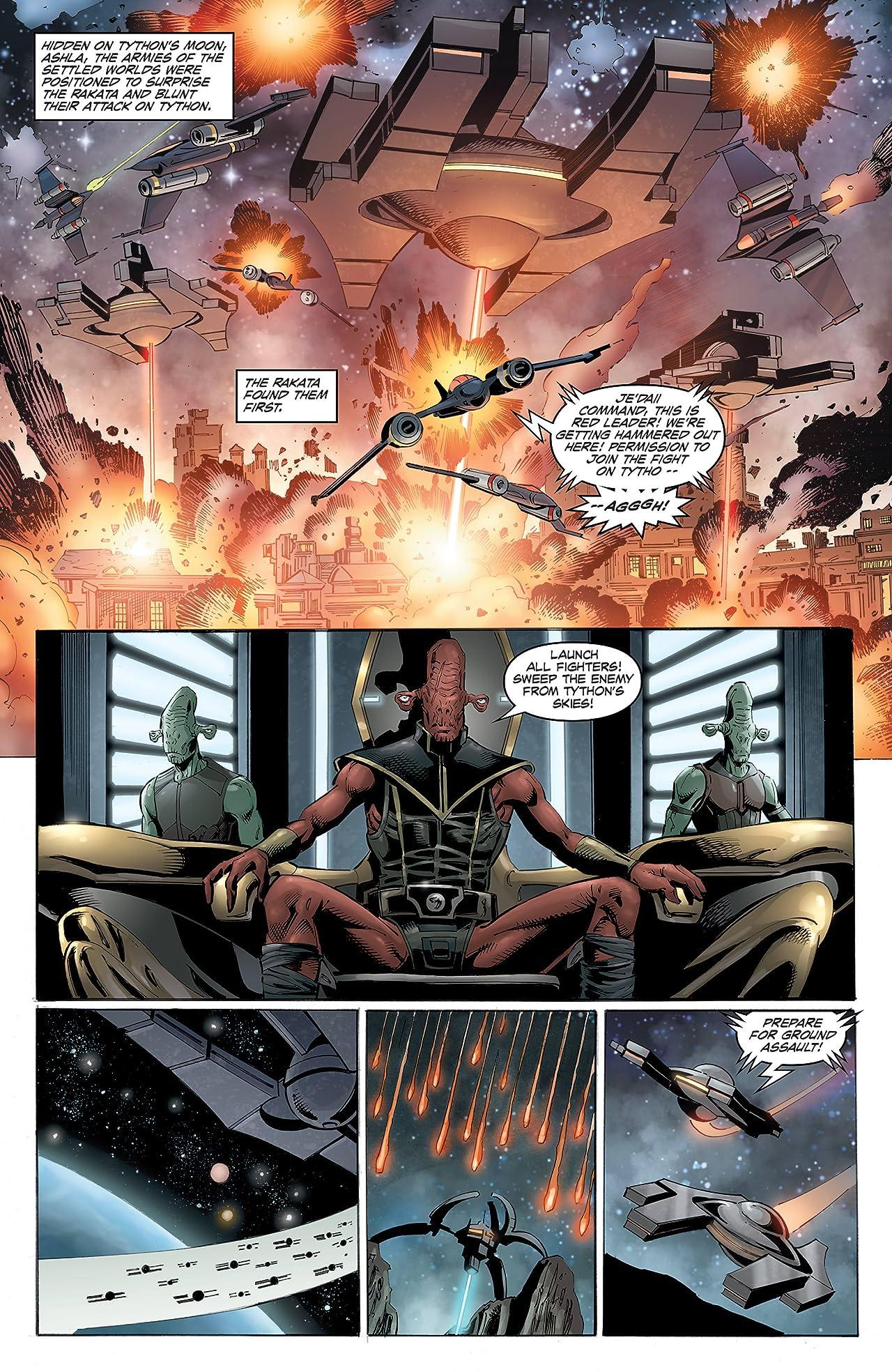 Star Wars: Dawn of the Jedi - Force War (2013-2014) #4 (of 5)