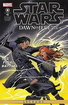 Star Wars: Dawn of the Jedi - Force War (2013-2014) #5 (of 5)
