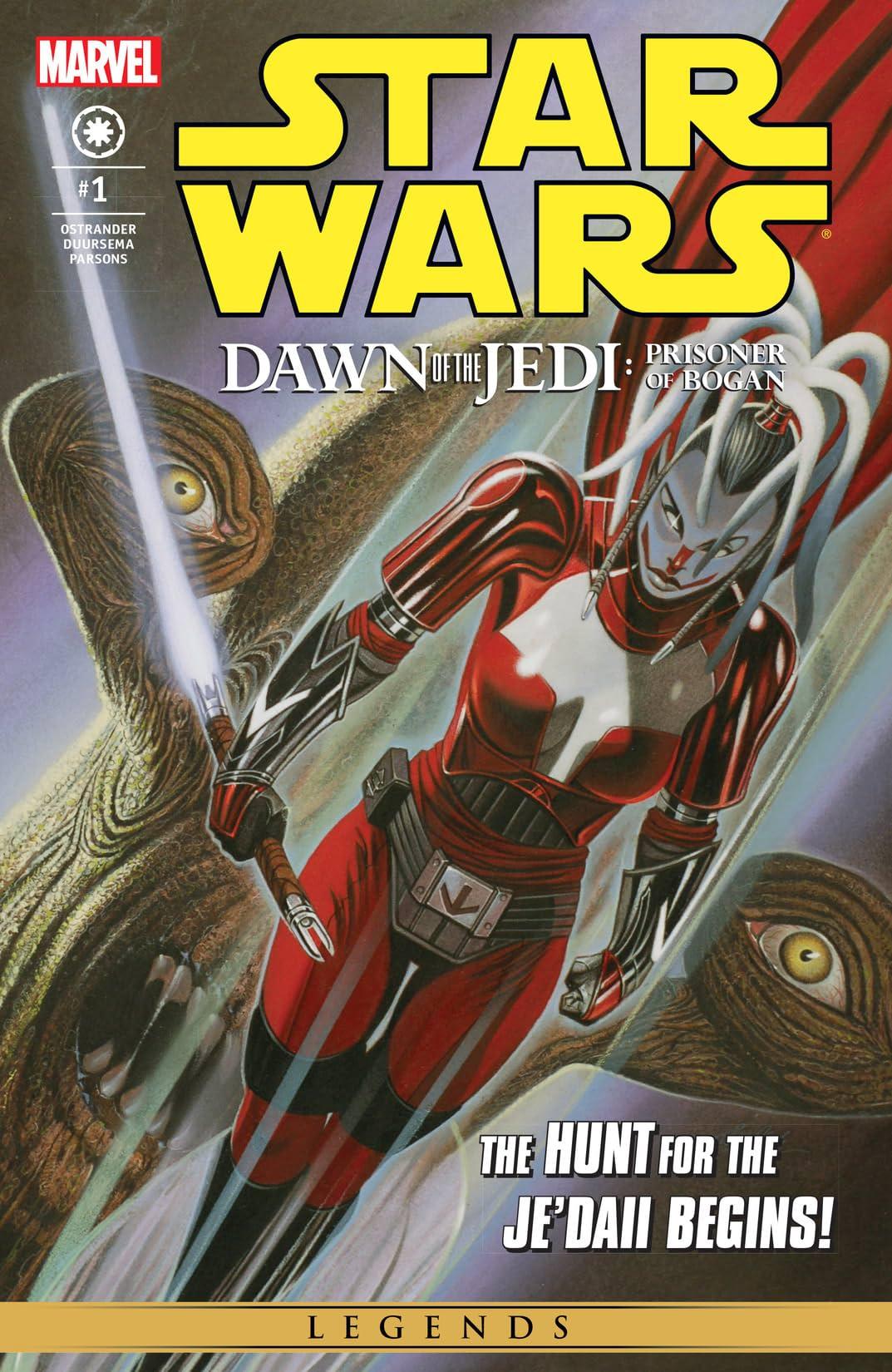 Star Wars: Dawn Of The Jedi - The Prisoner Of Bogan (2012-2013) #1 (of 5)