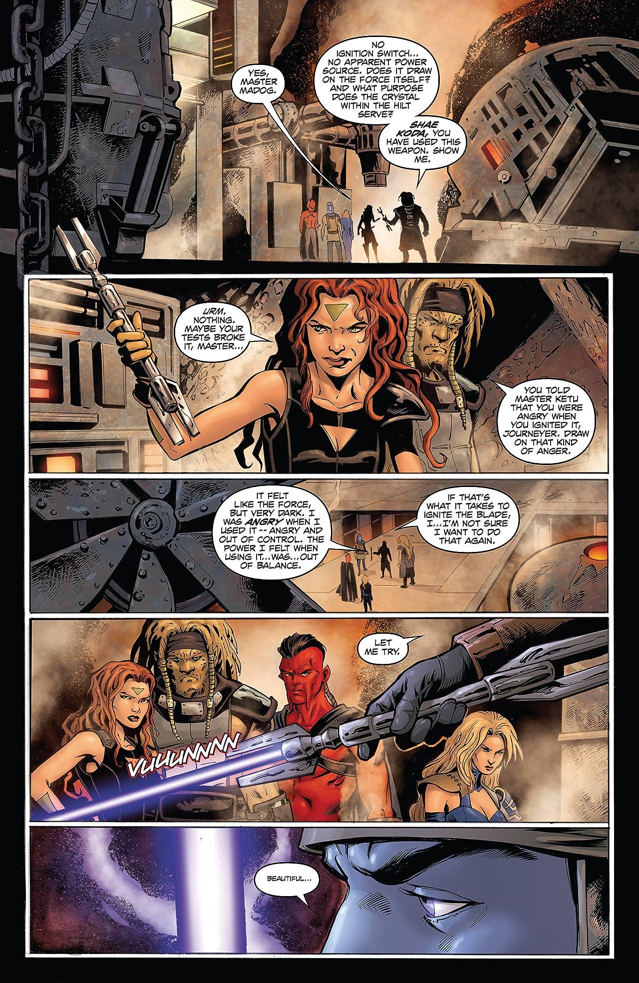Star Wars: Dawn Of The Jedi - The Prisoner Of Bogan (2012-2013) #2 (of 5)