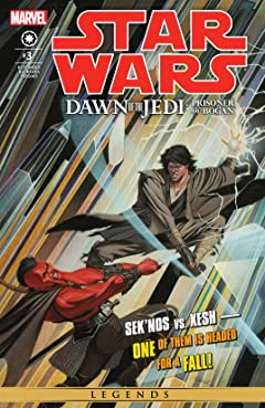 Star Wars: Dawn Of The Jedi - The Prisoner Of Bogan (2012-2013) #3 (of 5)