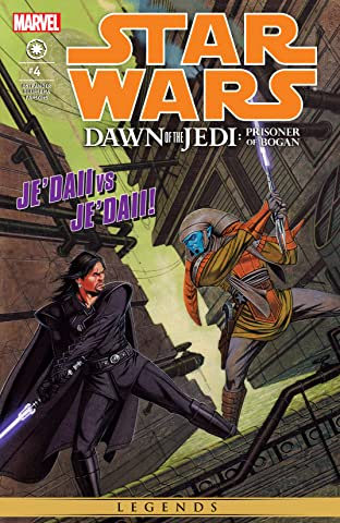 Star Wars: Dawn Of The Jedi - The Prisoner Of Bogan (2012-2013) #4 (of 5)