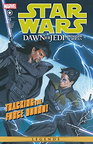 Star Wars: Dawn Of The Jedi - The Prisoner Of Bogan (2012-2013) #5 (of 5)
