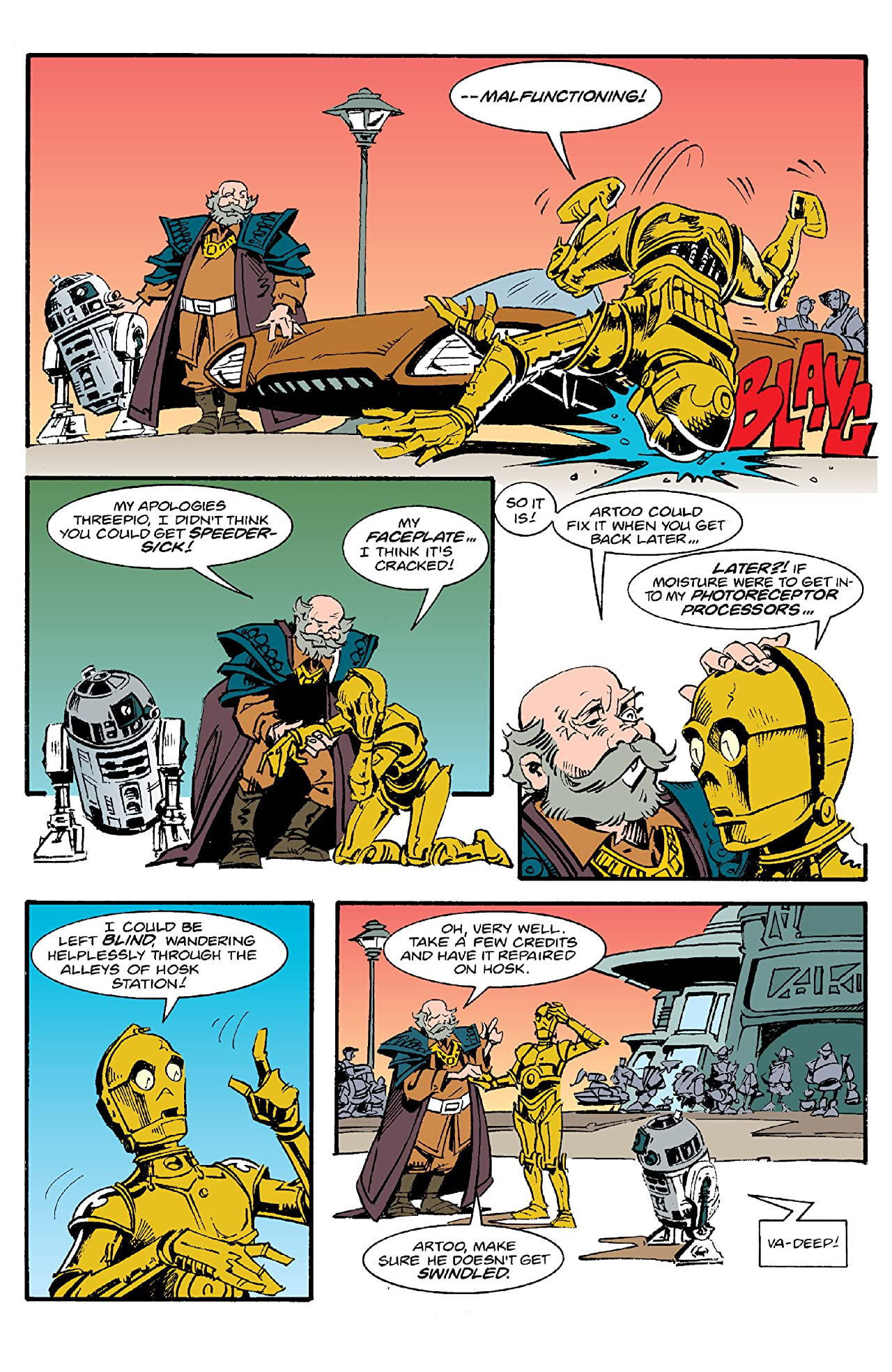 Star Wars: Droids (1994) #3 (of 6)