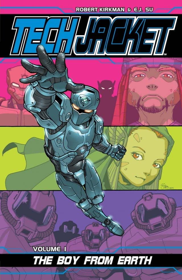 Tech Jacket Tome 1: The Boy From Earth