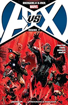 Avengers vs. X-Men No.7 (sur 12)