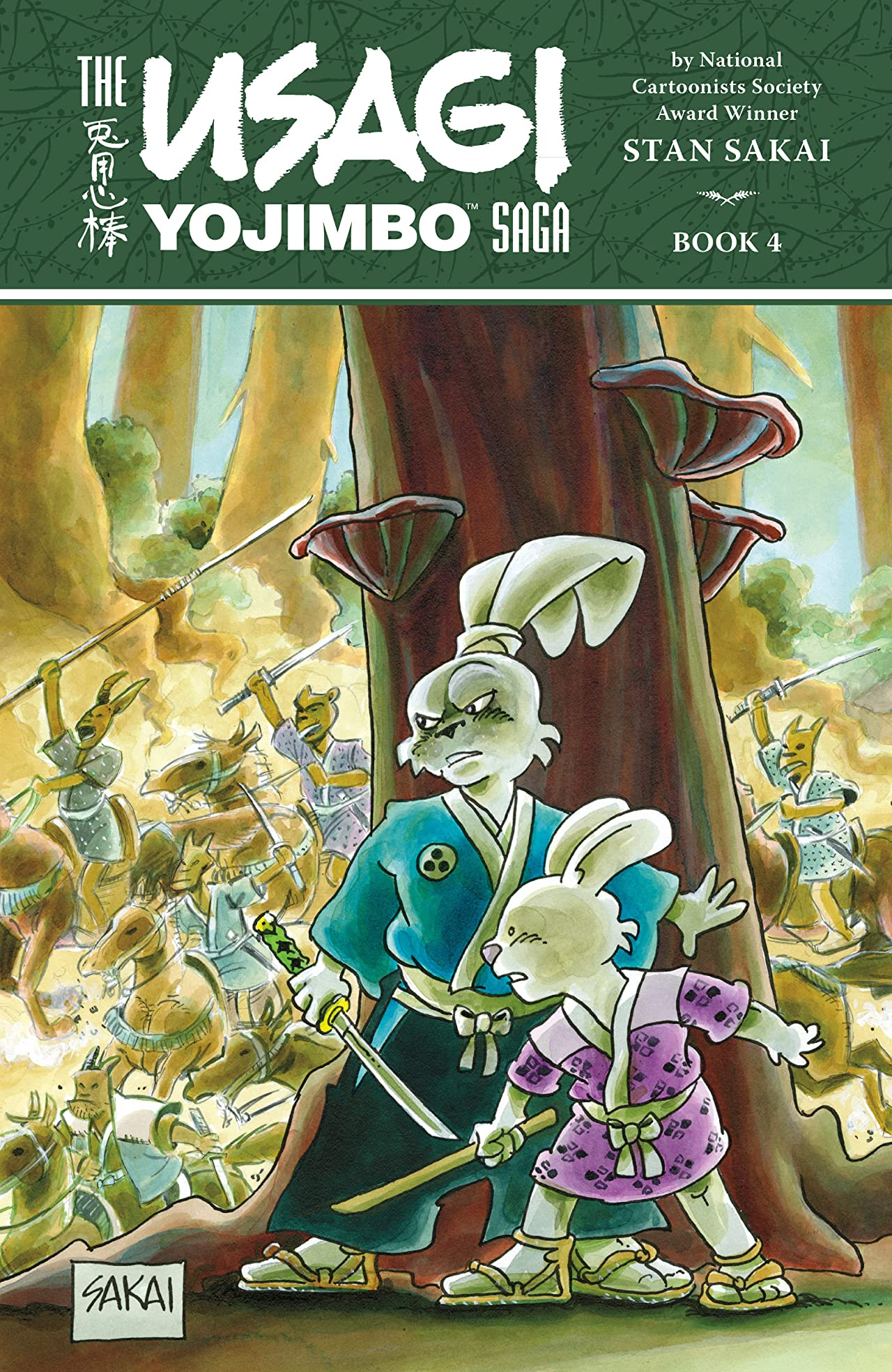 Usagi Yojimbo Saga Vol. 4