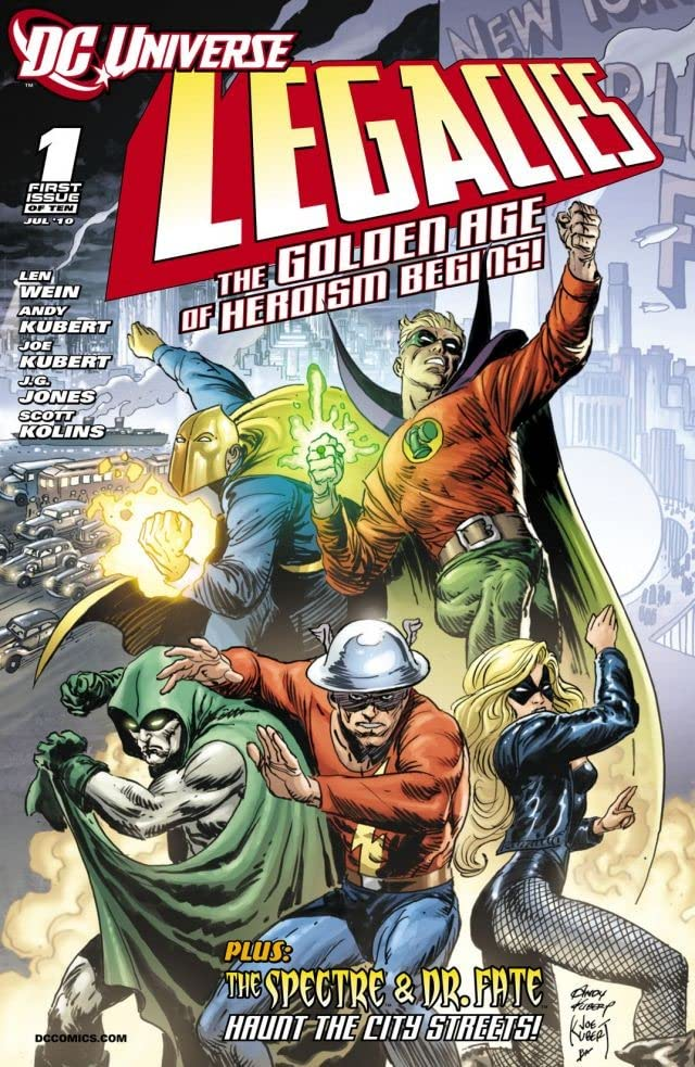DC Universe: Legacies #1 (of 10)