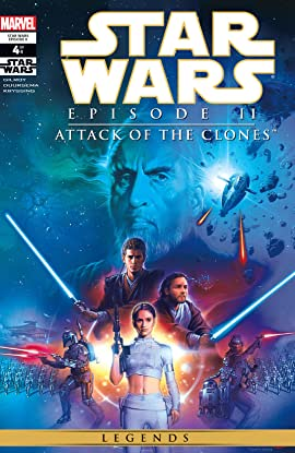 Star Wars: Episode II - Attack of the Clones (2002) #4 (of 4)