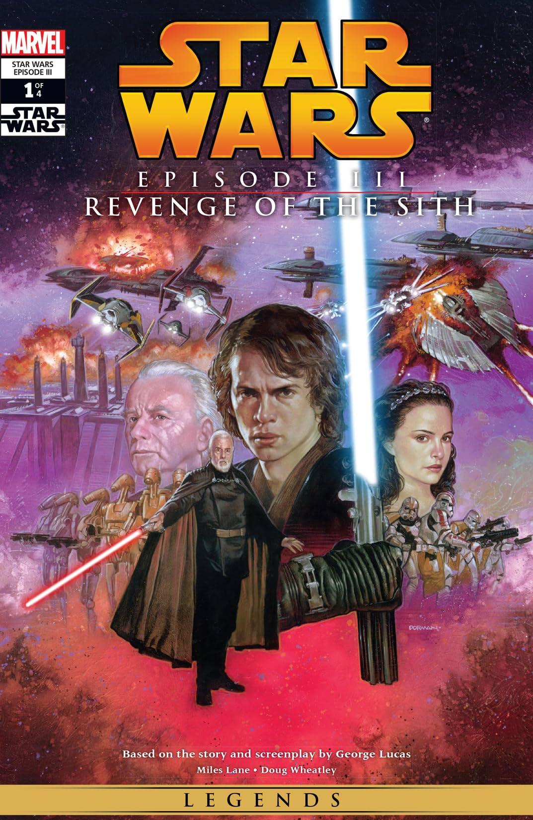 Star Wars Episode Iii Revenge Of The Sith 2005 1 Of 4 Eu Comics By Comixology