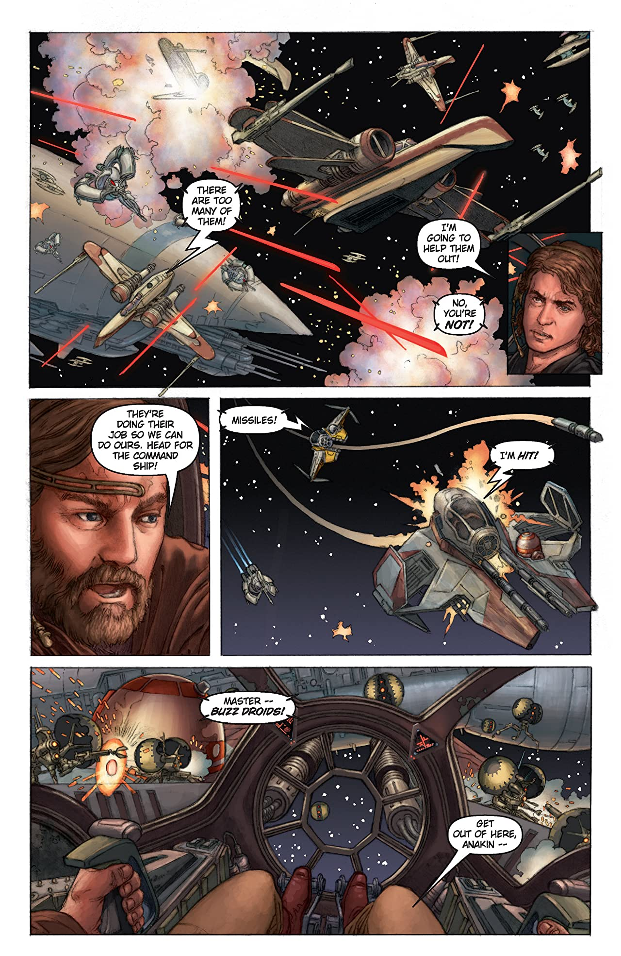 Star Wars: Episode III - Revenge of the Sith (2005) #1 (of 4)