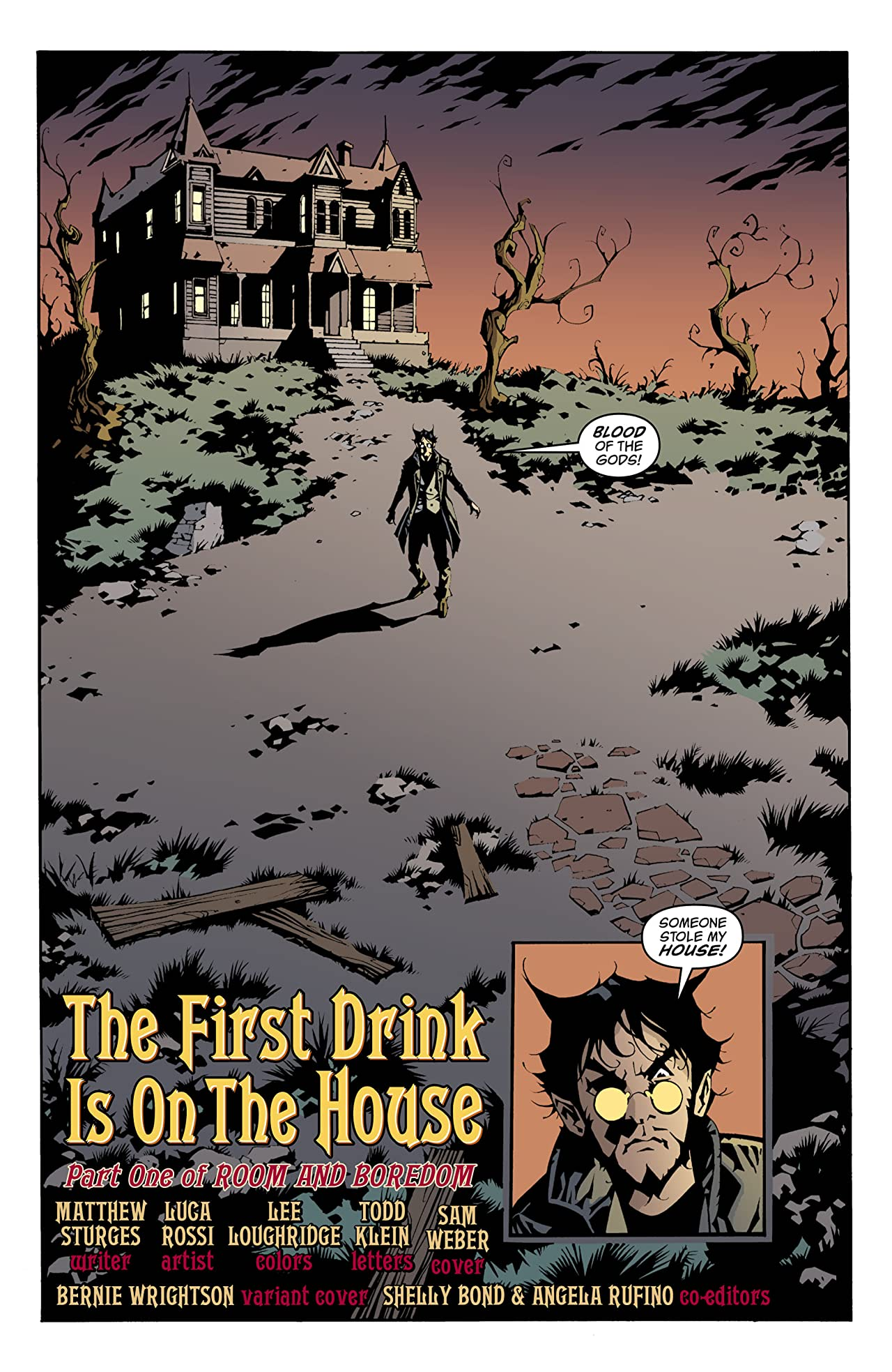 House of Mystery (2008-2011) #1