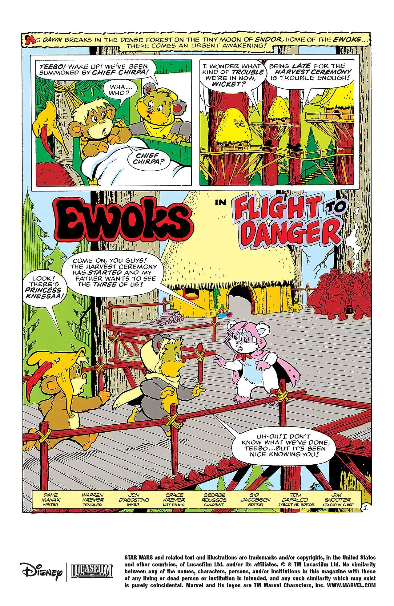Star Wars: Ewoks (1985-1987) #3